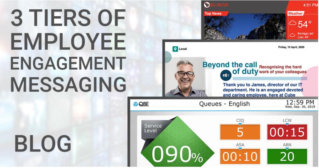 Understanding the Three Tiers of Employee Engagement Messaging