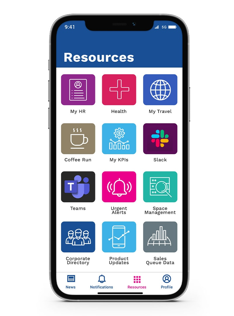 Mobile Communications applications