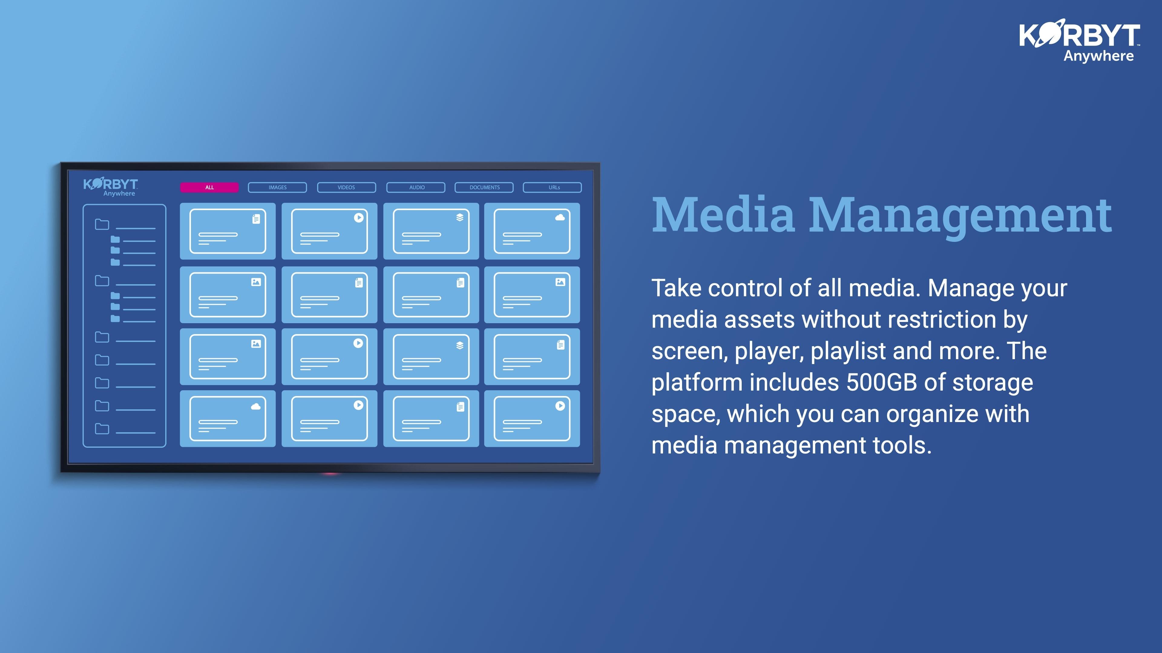 media management console