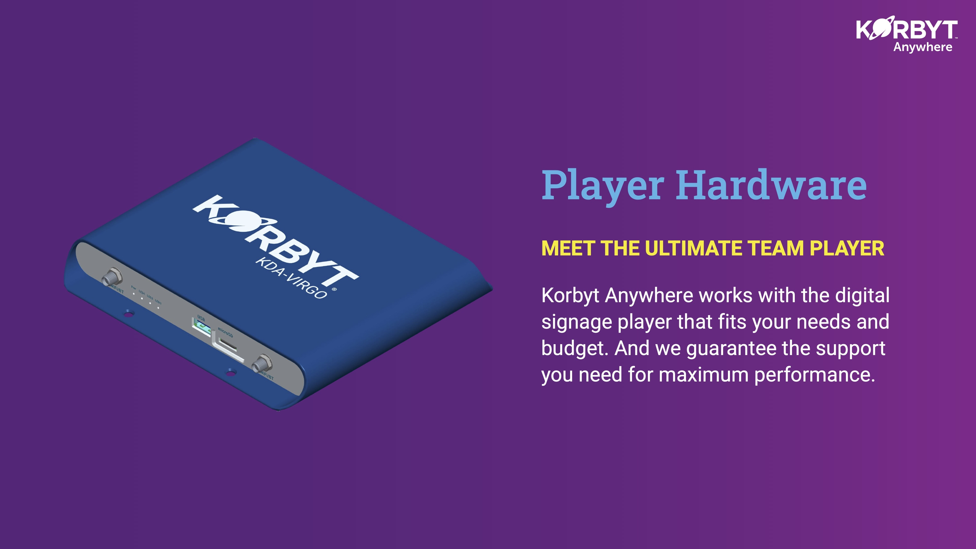 player hardware