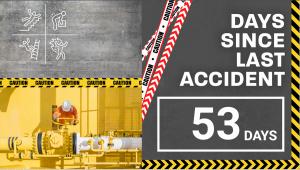 Warehouse safety signage